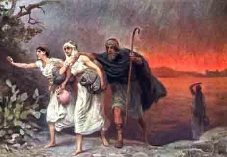 You are currently viewing قصة النبي لوط في الكتاب المقدس: هل ارتكب الفاحشة مع ابنتيه؟!