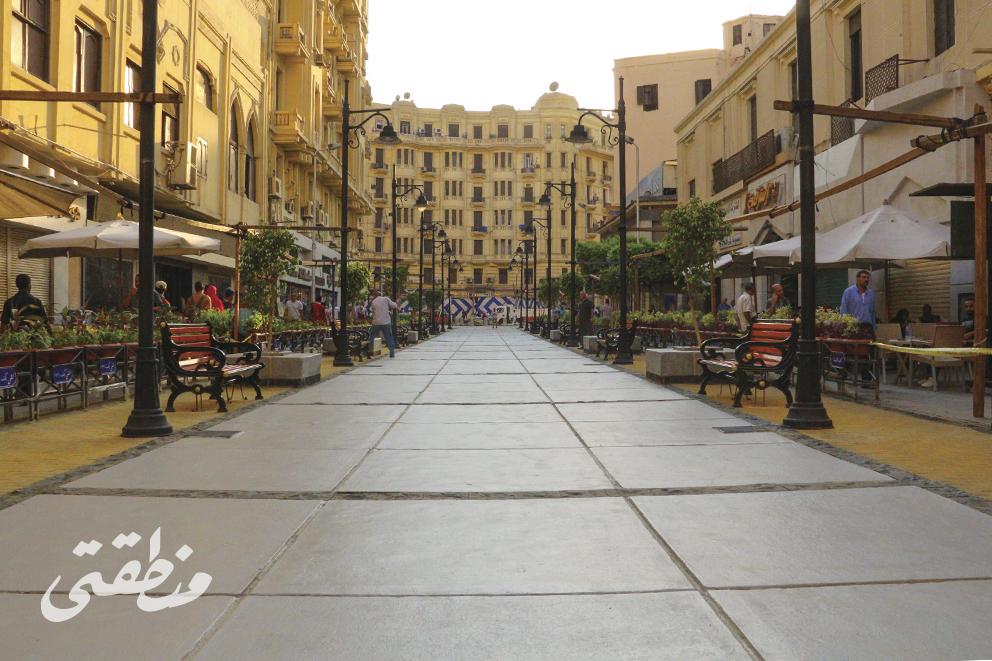 ممر الألفي بعد تطويره وافتتاح المرحلة الثانية - تصوير صديق البخشونجي