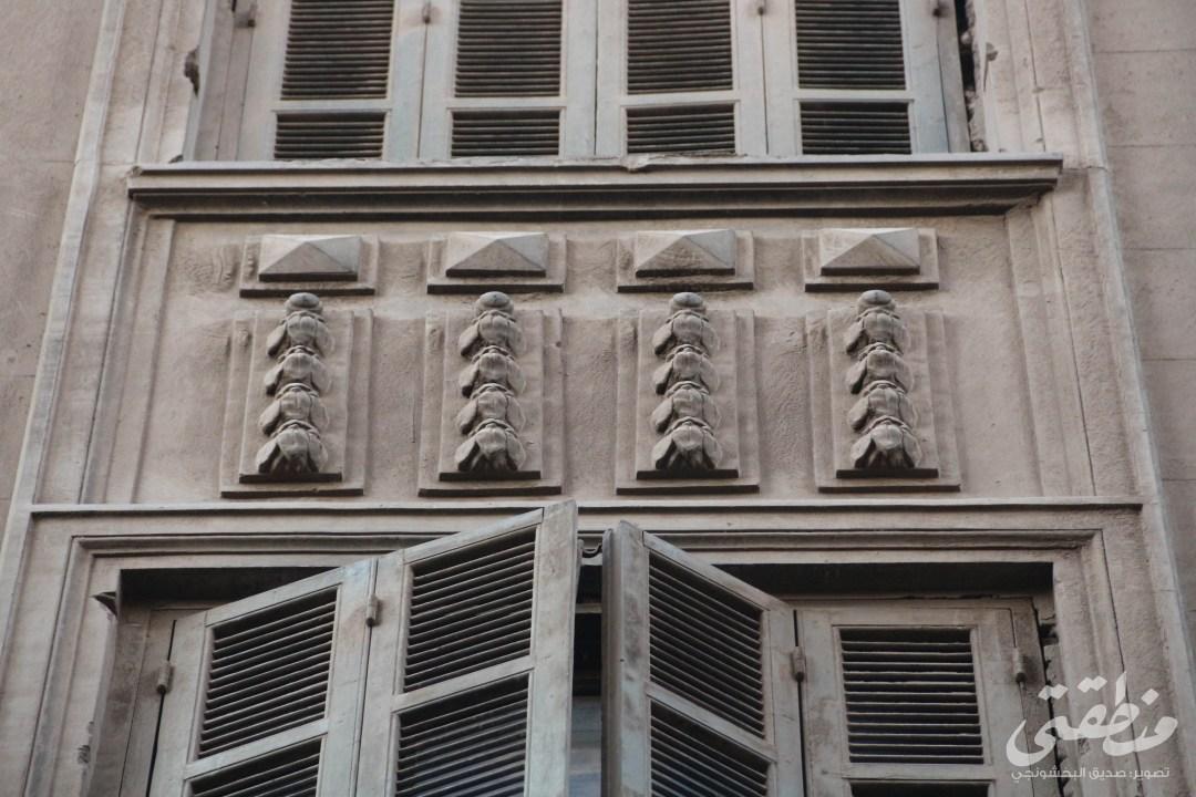 زخارف لعمارة يونانية بحارة النصارى