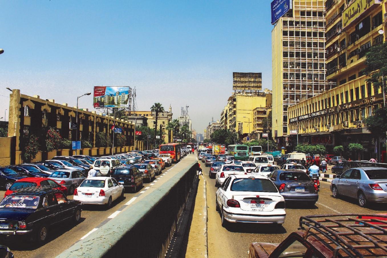 شارع رمسيس - تصوير: صديق البخشونجي