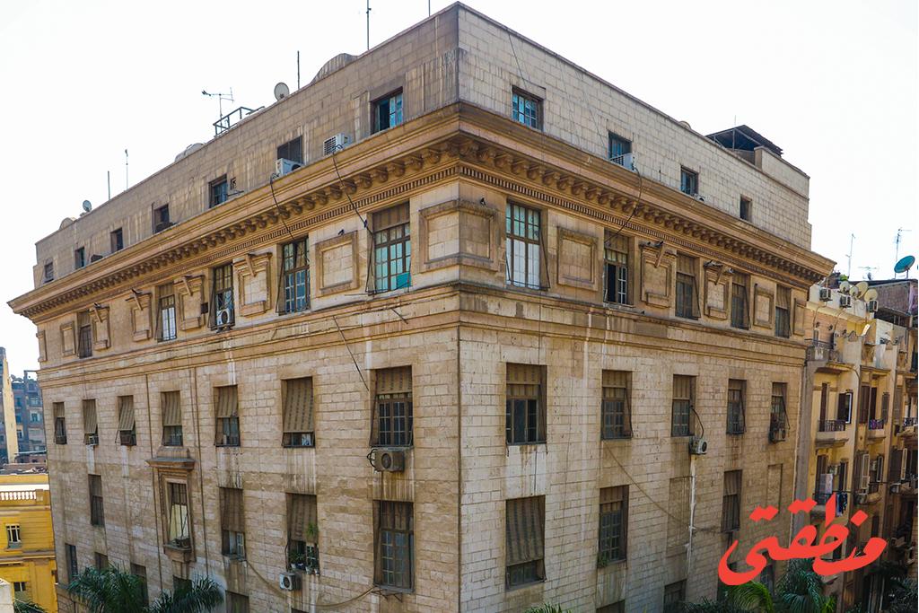 مبنى إذاعة القاهرة الكبرى في منطقة البورصة بوسط البلد - تصوير: صديق البخشونجي