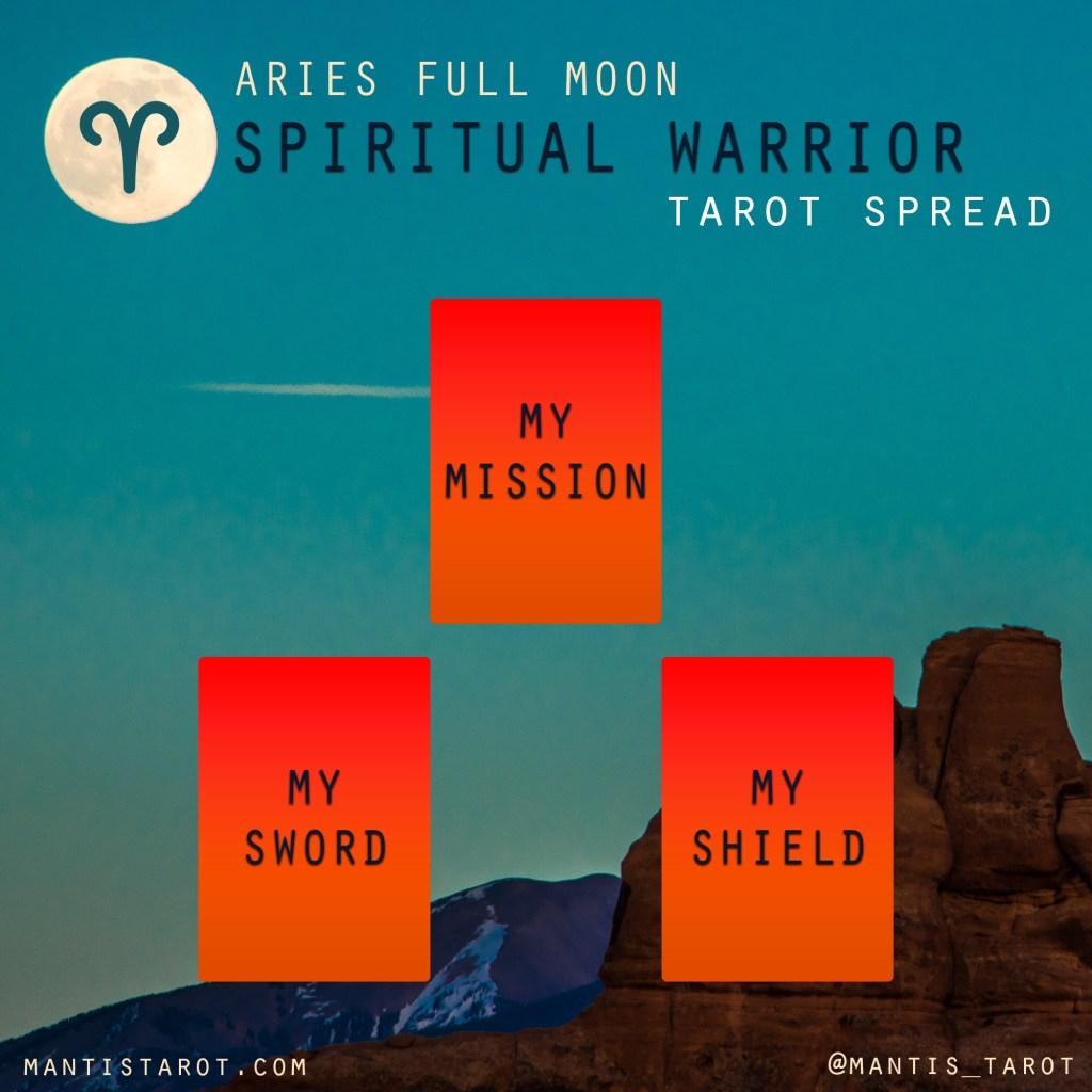 "Spiritual Warrior"" Tarot Spread – Mantis Tarot"