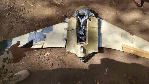 الجيش اليمني يسقط طائرة حوثية مفخخة في صعدة WWW.MANTOWF.COM