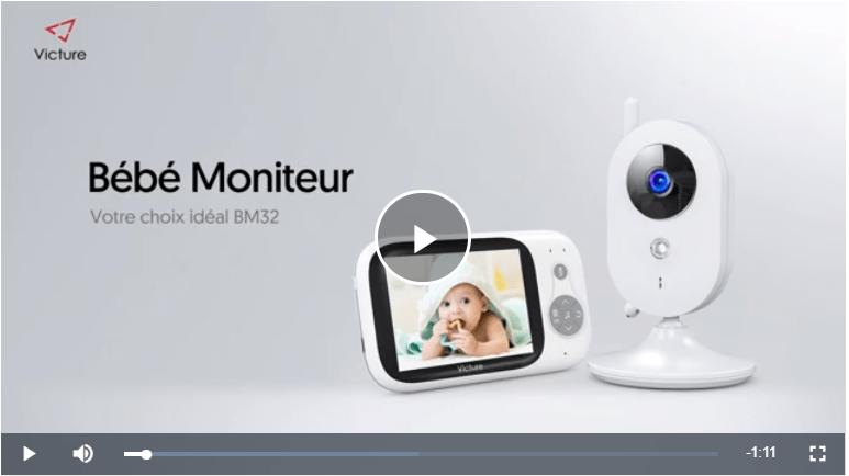 كاميرا مراقبة للطفل من امازون فرنسا