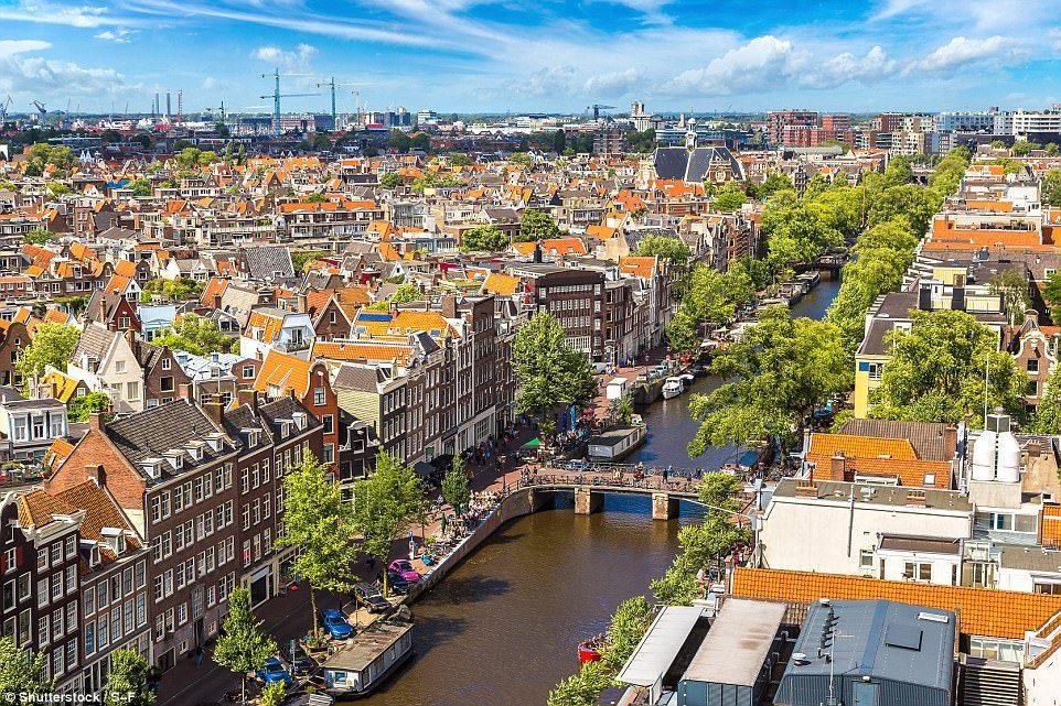 هولندا امستردام سياحة في أجمل المناطق العصرية والتاريخية هولندا %  🔰 | أوروبا