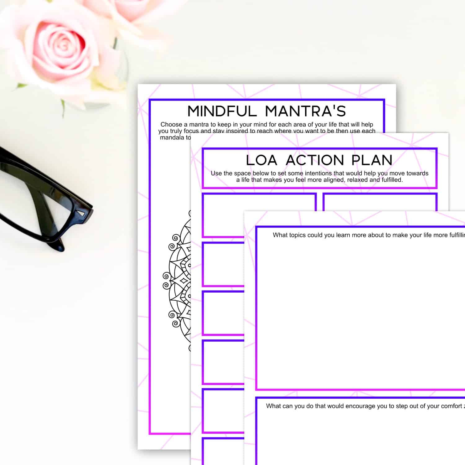 Law Of Attraction Fresh Start Journal Download Printable