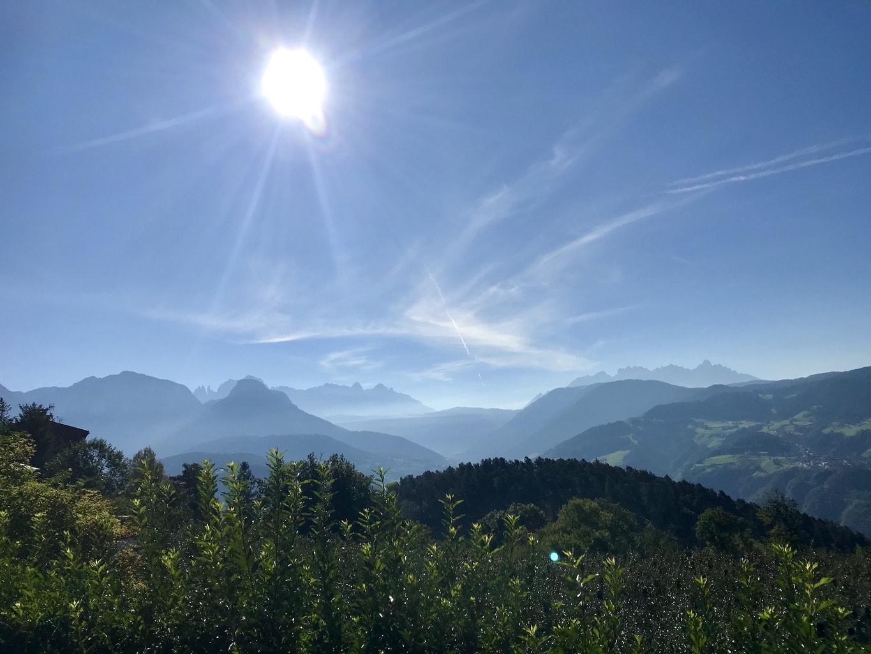 Trailen und Wandern in Südtirol