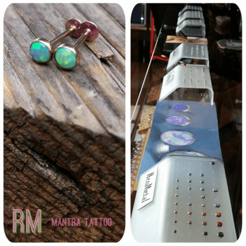 Neometal Piercing Jewelry at Mantra