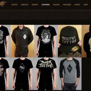 Mantra Tattoo website