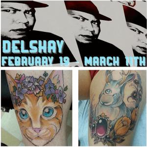 Hawaii Tattoo artist Delshay