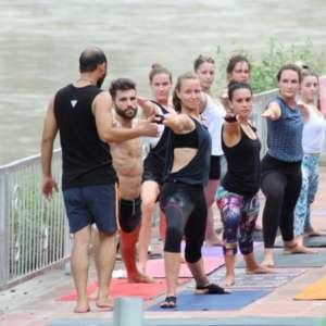 Mantra Yoga Meditation Practicing Yoga Ganges 300x300 - Yoga Teacher Training India
