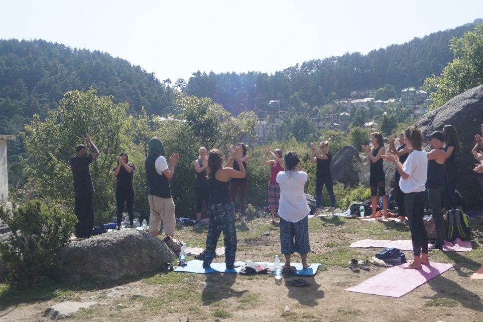 Laughter Yoga at Mantra Yoga Retreat and Teacher Training dharamsala - Retreats
