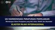 UU HPP Cluster Perpajakan Internasional