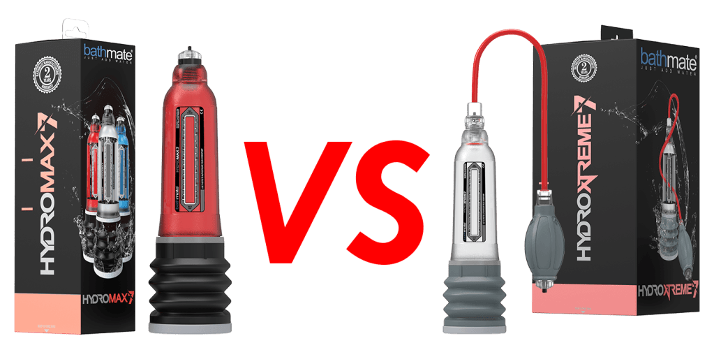 Hydromax VS HydroXtreme​ - Best Penis Pump | Bathmate Hydroxtreme Review