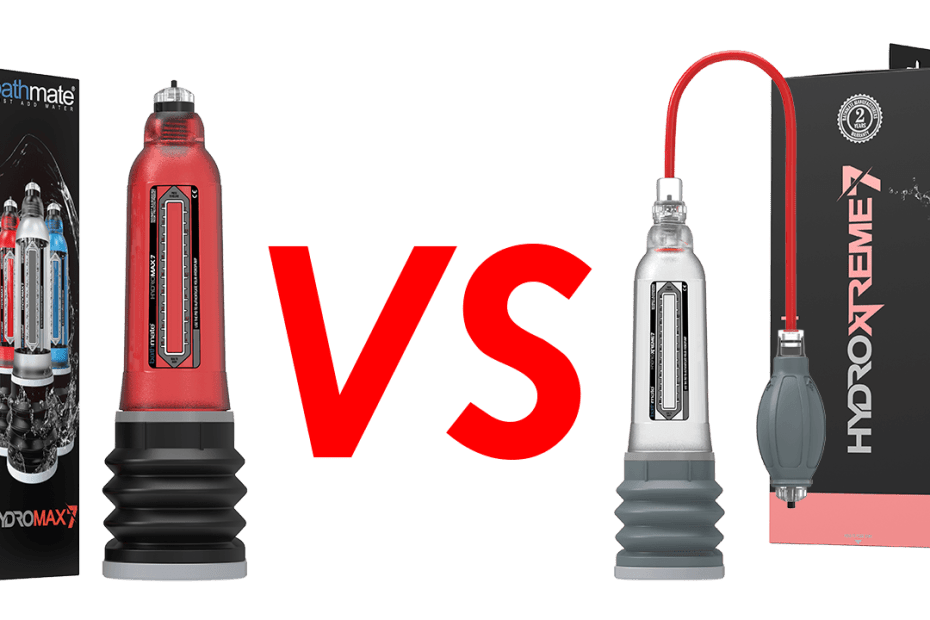 Bathmate: Hydromax VS HydroXtreme​