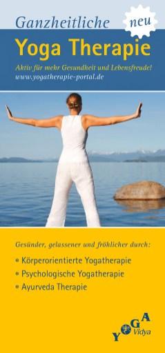 Messe-Aufsteller 100x228 Yoga Therapie (Konzeption, Gestaltung; 2010)