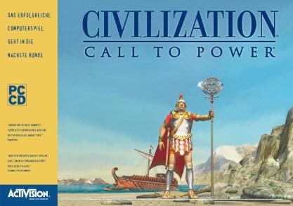 Anzeige für »Civilization – Call to Power«, ein Strategiespiel von Activision (Layout 1999)