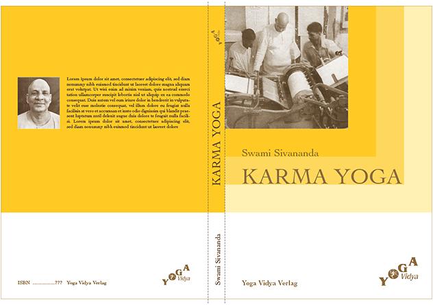 Buch »Karma Yoga« (Umschlaggestaltung 2007)
