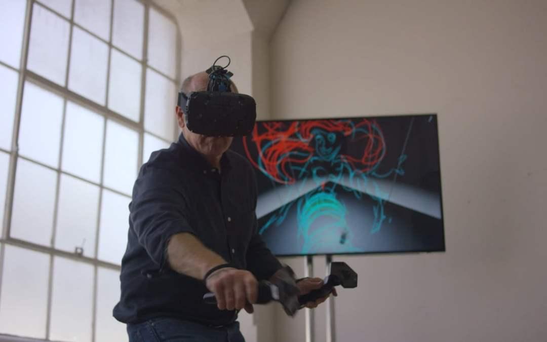 Dentro de un dibujo – Realidad virtual