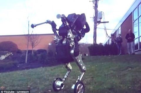 Filtrado vídeo de Boston Dynamics