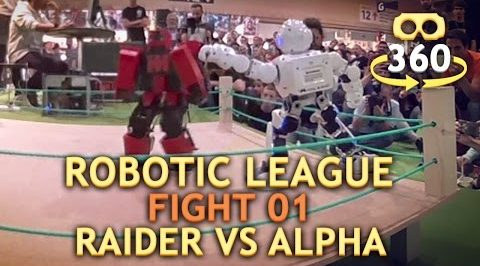 Vídeo VR de combate robot