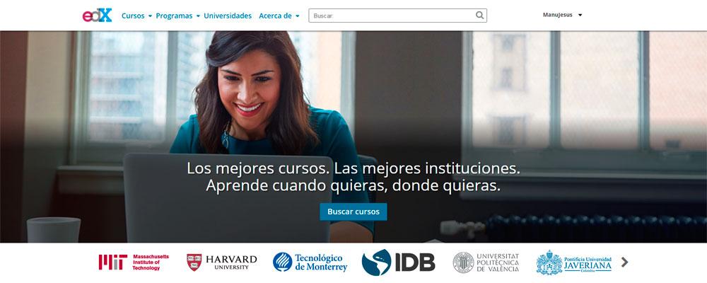 edX en español.