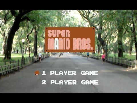 Super Mario Bros en realidad aumentada