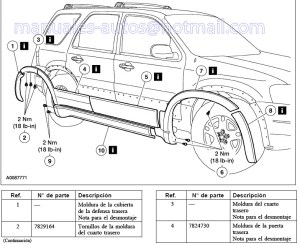 Manual De Reparacion Ford Escape 2005 2006 2007 2008 2009