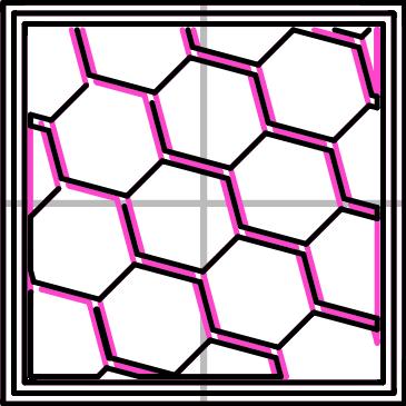 Infill pattern: Honeycomb (362.73mm / 5m:39s)