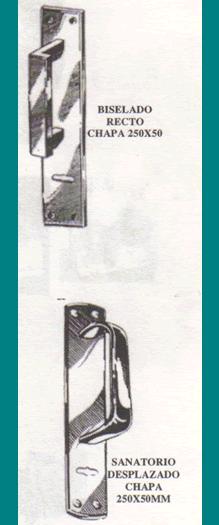 Apertura pestillo: retirar manijon