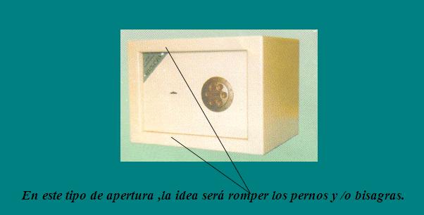 caja fuerte arfe modelo 306 instrucciones