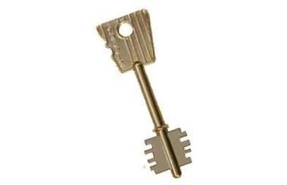 llave-de-una-cerradura-doble-paleta