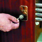 puerta cerradura gorjas borjas llave doble paleta