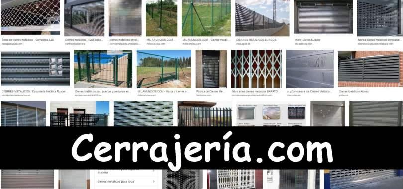 DIVERSOS CIERRES DE METAL - CERRAJERÍA.COM