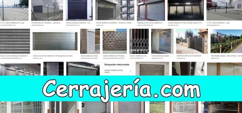 CIERRES METALICOS - CERRAJERÍA.COM