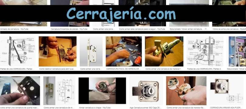 CERRAJERÍA.COM - ARMAR CERRADURA - MANUALCERRAJERO.COM