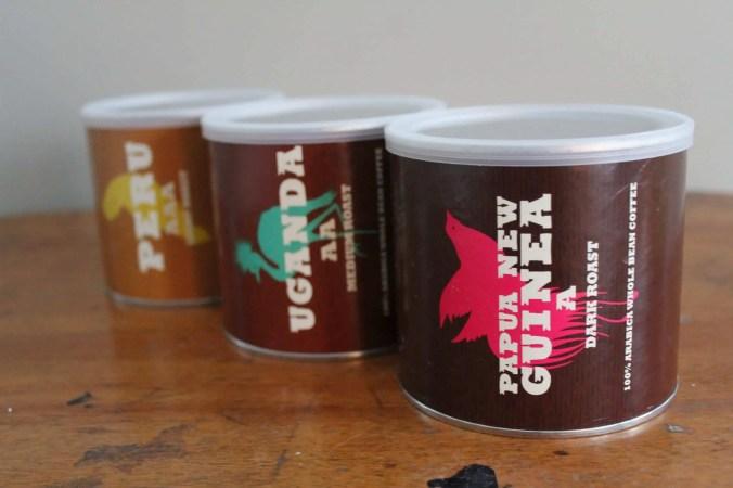 Three Trader Joe's Coffee's