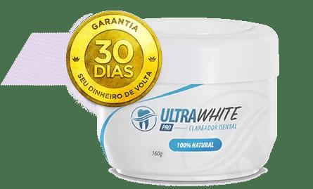 Nessa Imagem mostra o UltraWhite Pro e sua garantia