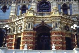Fachada de prédio em Buenos Aires, Argentina