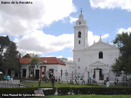 Igreja de la Recoleta, Buenos Aires, Argentina