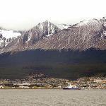 Ushuaia vista do mar, Terra do Fogo