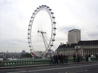 London Eye, a descomunal roda gigante, Londres,