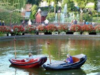 Parque Tivoli, Kopenhage, Dinamarca