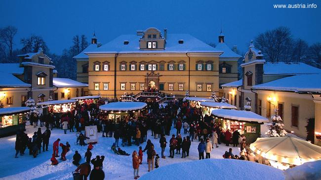 Salzburgo sob a neve, Áustria