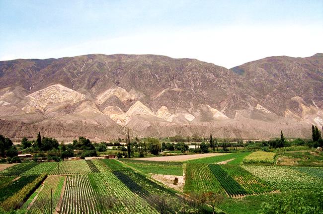 Palleta del Pintor, Quebrada de Humahuaca, na Argentina
