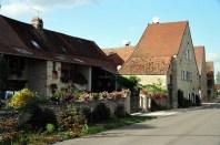 Aldeia na Borgonha, França