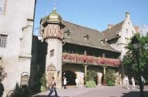 Alsácia, França, arquitetura típica