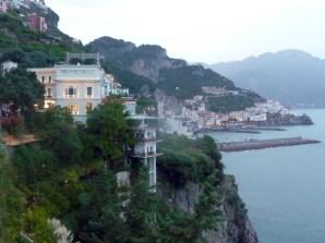 Amalfi, hotel na encosta