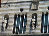 Arquitetura, detalhes, Gênova, Itália