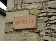 Bruniquel, França, ruas com nome curiosos